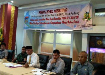 High Level Meeting Tim Pengelola Inflasi Daerah (TPID) Kota Padang