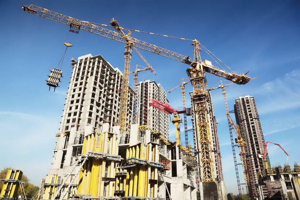 Sektpr property, real estate dan konstruksi bangunan mengalami penurunan. Foto : SahamOK