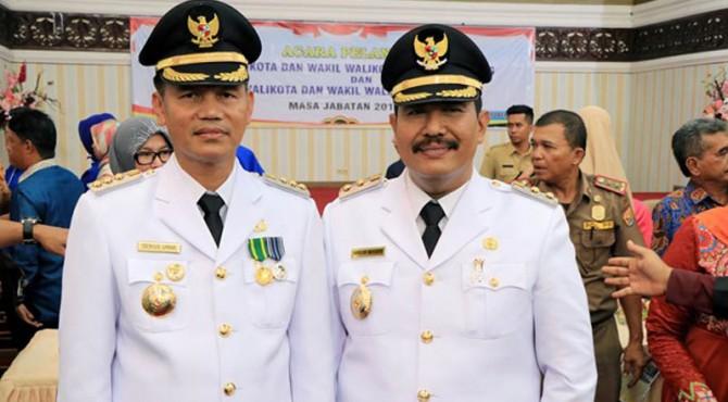 Walikota dan Wakil Walikota Pariaman dalam suatu acara. Foto: klikpositif