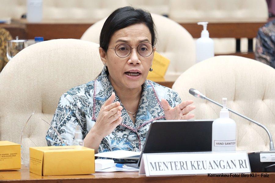 Menteri Keuangan RI, Sri MUlyani. Foto: Internet