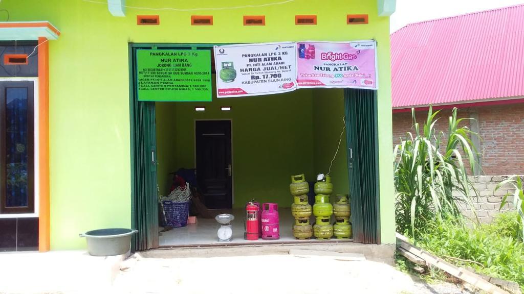 Program Satu Desa Satu Pangkalan PT Pertamina MOR I. Foto : Istimewa